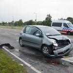 Vrouw gewond bij aanrijding drie voertuigen op de Kilweg in Barendrecht