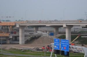 Verbindingsweg A15/A29 in Barendrecht