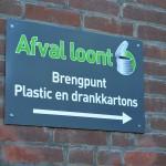 Afval loont, brengpunt plastic en drankkartons