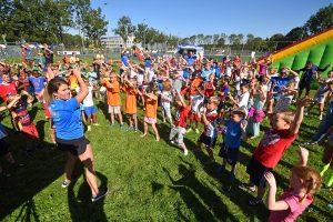 Sport en spel tijdens Het Olympisch Dorp op De Bongerd