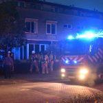 Keukenbrand in woning aan de Harplaan, één persoon naar ziekenhuis