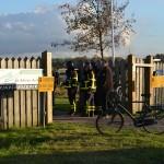 Brandweer onderzoekt gaslucht aan de 3e Barendrechtseweg in Barendrecht