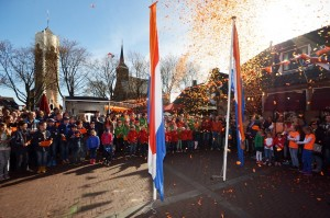 Zonnige Koningsdag Barendrecht 2015