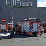 CO2 lekkage bij bedrijf aan de Spoorlaan, brandweer mag ijs bikken
