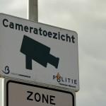 Bord cameratoezicht gemeente Barendrecht en Politie
