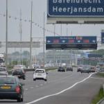 Snelweg A29 bij Barendrecht