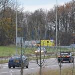 Opnieuw aanrijding met letsel op de oprit A29 bij Barendrecht