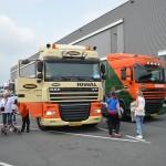 Aankomst bij Hillfresh, Truckrun Barendrecht 2014
