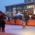 Burgernet Winterplein van start op het gemeentehuisplein Barendrecht (2016)