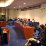 Leerlingen Calvijn op bezoek bij commissievergaderingen