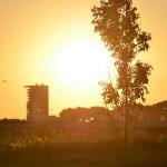 Zonsondergang Zuidpolder Barendrecht