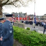 Grote belangstelling voor dodenherdenking op het Doormanplein in Barendrecht