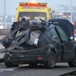Groot ongeluk veroorzaakt lange file op de A29 bij Barendrecht