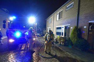 CV ketel in brand op zolder van woning aan de Dorpsstraat