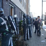 Kamerplant in brand aan de Avenue Carré in Barendrecht (Carnisselande)
