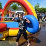 Bevrijdingsdag: Wipe-out op het gemeentehuisplein in Barendrecht