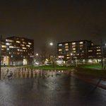 Middeldijkerplein, Barendrecht (Nacht, donker)