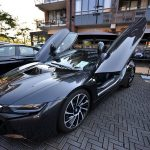 Autoshow met eye catchers op het Havenhoofd