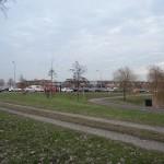 Auto's botsen op de GROEN-rotonde bij de Carnisserbaan/Kilweg in Barendrecht