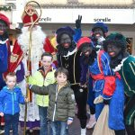 Met Sinterklaas op de foto tijdens Sint inkopen in het centrum