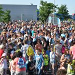 Zonnige start voor Avondvierdaagse 2016