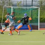 HCB Heren 1 - Hoeksche Waard: 8-0