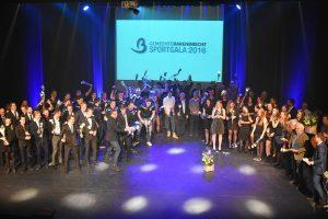 Sport-toppers in het zonnetje gezet tijdens Sportgala Barendrecht 2017
