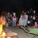 Halloween-optocht Oranjespeeltuin: Engerds met snoep voor de deur