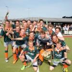 HCB Heren 1 overtuigend kampioen op eigen veld in Barendrecht