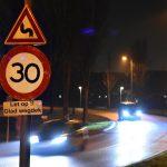 """Snelheid in S-bocht Sweelincklaan van 50 naar 30km/u: """"Glad wegdek!"""""""