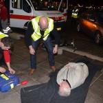 Dubbele aanrijding met meerdere slachtoffers op het Middeldijkerplein in Barendrecht (Carnisselande)