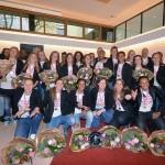 BVV Barendrecht Dames 1 kampioen: Gehuldigd op het gemeentehuis van Barendrecht