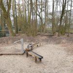 Natuurspeelplaats op speeleiland Park Buitenoord