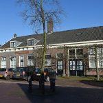 Archieffoto van D' Ouwe School aan de Dorpsstraat 150a in Barendrecht (Historische Vereniging Barendrecht)