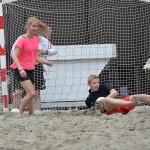 Beachsoccer wedstrijden 11:00 - 11:50, Doormanplein Barendrecht 2013