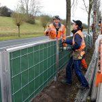 Groenhaag langs Sweelincklaan in de maak om zicht op autoverkeer te ontnemen