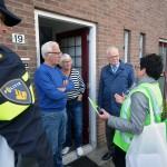 Bewoners centrum alert gemaakt tijdens veiligheidspreventieactie in Barendrecht