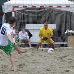 Beachsoccer wedstrijden 12:50 - 13:30, Doormanplein Barendrecht 2013