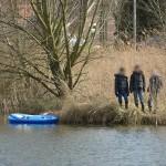 Massale uitruk hulpdiensten voor melding 'kind te water' Sweelincklaan in Barendrecht