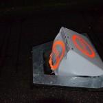 Bussluis voor de derde keer kapot gereden aan de Spinetstraat in Barendrecht