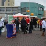 'Raad on tour' op de markt van Barendrecht