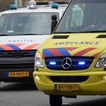 Archief: Politie en ambulance op de Kilweg in Barendrecht