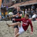 Beachsoccer 2e halve finale, Doormanplein Barendrecht 2013