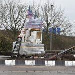 Kunstwerken Efteling rotonde beschadigd bij verhuizing