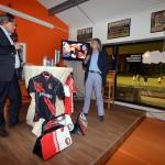 Johan Derksen bij sponsoravond Hockeyclub Barendrecht