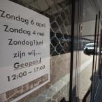 Eerste uur van eerste koopzondag Barendrecht in beeld