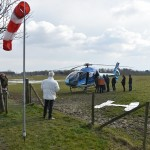 Helikopter verliest tankdop bij landing in Zuidpolder, Barendrecht