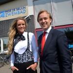 Barendrechts zwembad nu officieel: Inge de Bruijn Zwembad