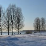 Barendrecht in de sneeuw, januari 2013