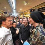 Mark Rutte bezoekt Carnisse Veste voor verkiezingscampagne